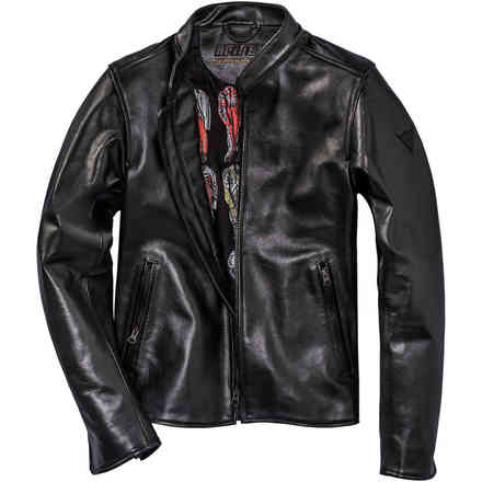 Nera72 Leather Jacket Dainese