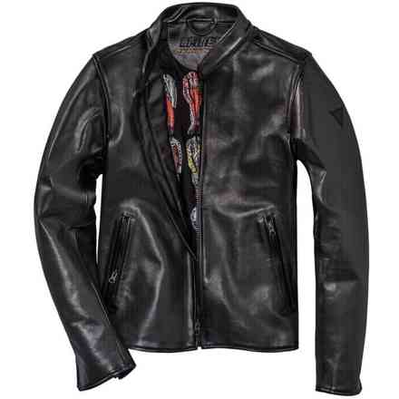 Nera72 Perforated jacket Dainese