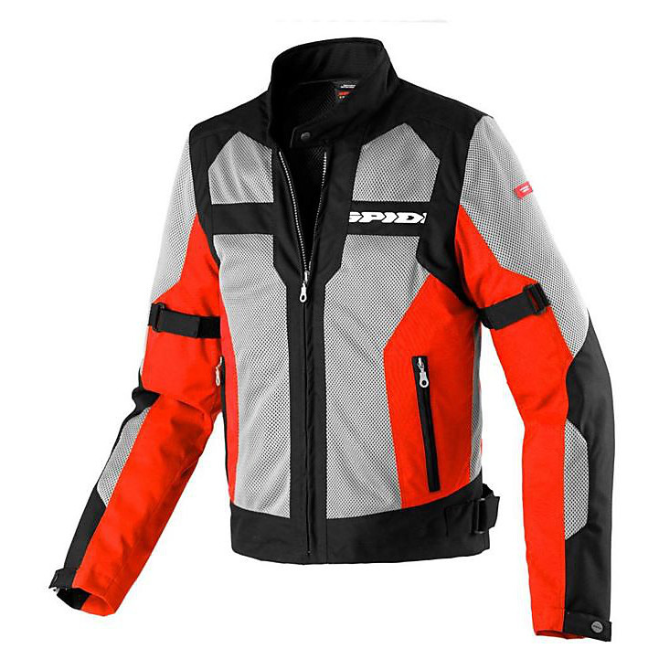 Net Evo Jacket black  - red  Spidi