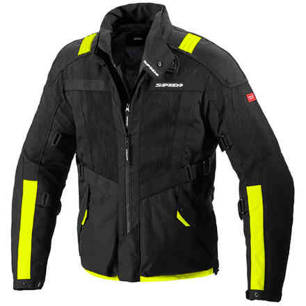 Netrunner jacket H2OUT yellow fluo Spidi