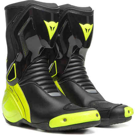 Nexus 2 D-Wp Boots Blk/Ylw-Fluo Dainese