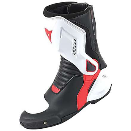 Nexus lady boots black-white-red Dainese