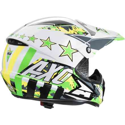 Ninja Jr. helmet green Axo