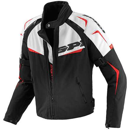 NW 200 Tex Black / Red Jacket Spidi