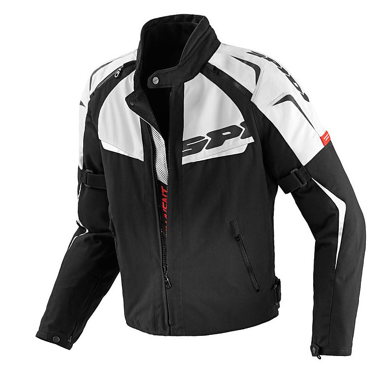 NW 200 Tex Black / White Jacket Spidi