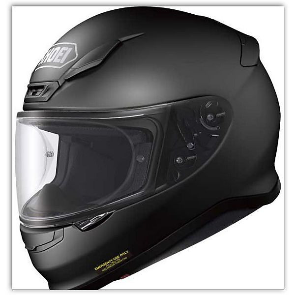 NXR Candy Helmet matt black Shoei