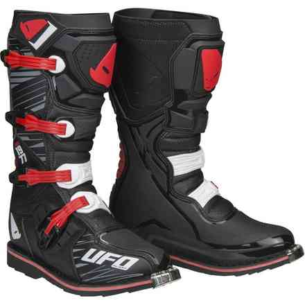 Obsidian Boots Black Red Ufo