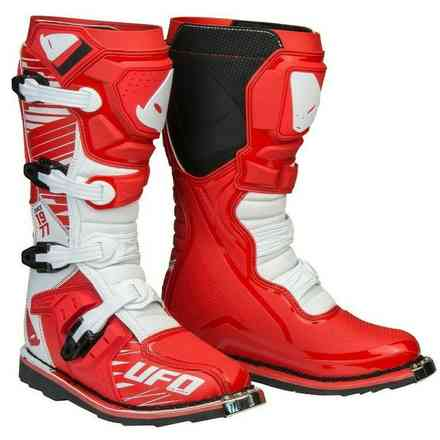 Obsidian Boots Red White Ufo