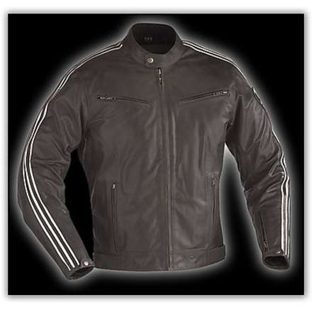Opium Black Leather Jacket Ixon