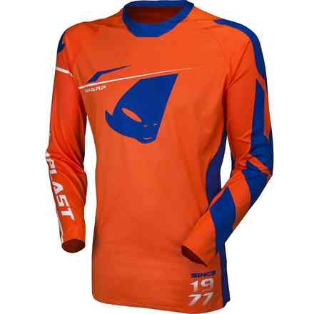 Orange Cross Slim Slim Trikot Ufo