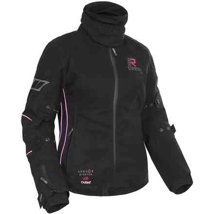 Orbita Gore-tex black fuchsia Lady Jacket RUKKA