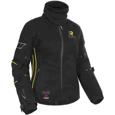 Orbita Gore-tex black yellow Lady Jacket RUKKA