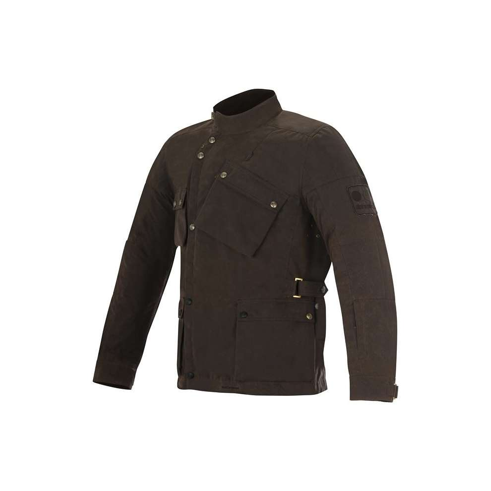 Oscar Enduro  2017  brown Jacket Alpinestars