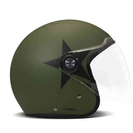 P1 Star Green helmet DMD