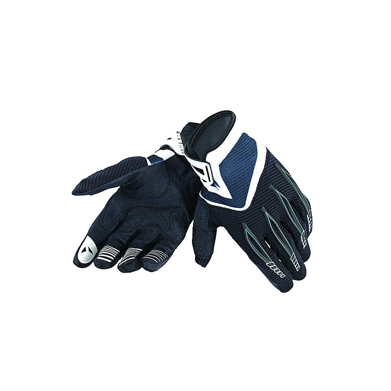 Paddock Gloves Black-White Dainese