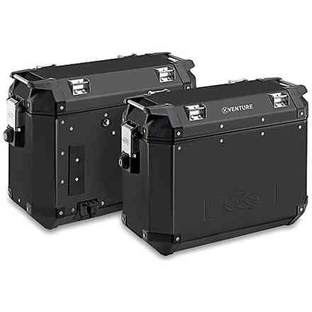 Pair of Aluminum Suitcases 37lt KAPPA
