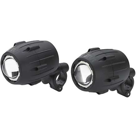 Pair of deep halogen headlamps Givi