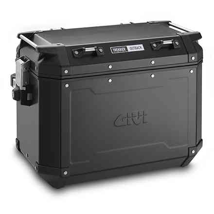 Pair of side cases 48L left 37L right Trekker Outback black Givi