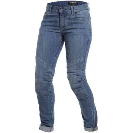 Pantalon Amelia Slim Lady medium denim Dainese