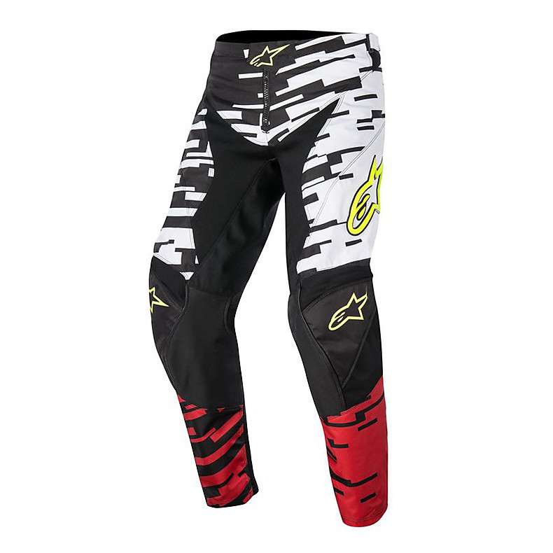 Pantalon cross Racer Braap 2016 noir-rouge-blanc Alpinestars