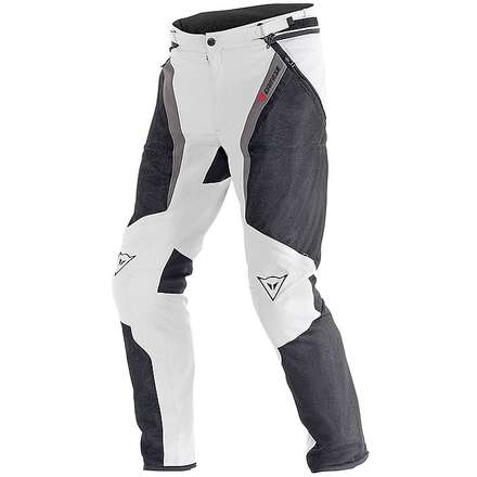 Pantalon Drake Super Air Tex  high rise-dark gull gray- noir Dainese