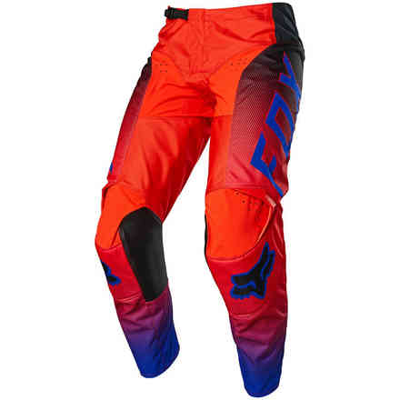 Pantalon MX 180 Oktiv Fluorescent Rouge Fox
