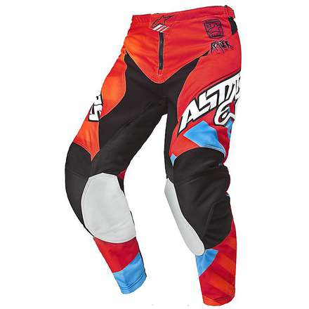 Pantalon Racer Braap 2015 rouge-orange Alpinestars