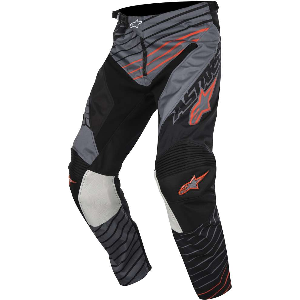 Pantalon Racer Braap 2017 gris-noir-orange Alpinestars