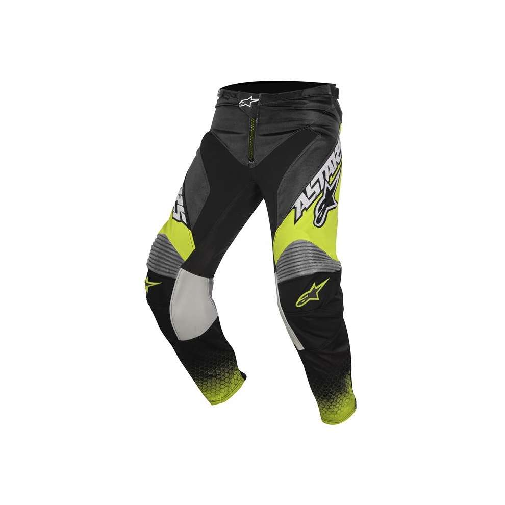 Pantalon Racer Supermatic anthracite-jaune-gris Alpinestars