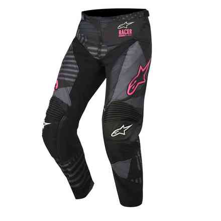 Pantalon Racer Tactical noir rose fluo Alpinestars