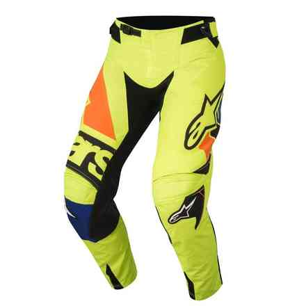 Pantalon Techstar Factory jaune fluo bleu noir orange fluo Alpinestars