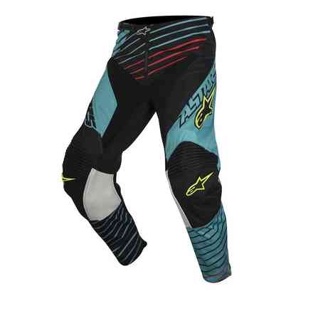 Pantalon Youth Racer Braap 2017 bleu noir Alpinestars