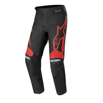 Pantalone Cross Racer Supermatic nero  rosso brillante Alpinestars