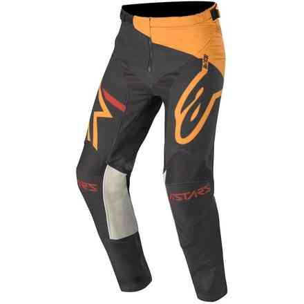 Pantalone Cross Racer Tech Compass nero arancione Alpinestars