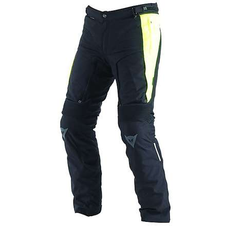 Pantalone D-Stormer D-Dry Nero-Giallo Fluo Dainese