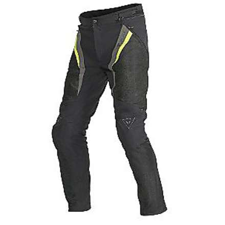 Pantalone  donna Drake Super Air Tex Nero-Giallo Fluo Dainese