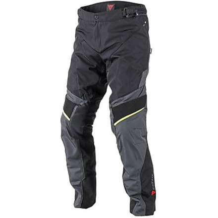 Pantalone Ridder D1 Gore-tex Nero-Giallo Fluo Dainese