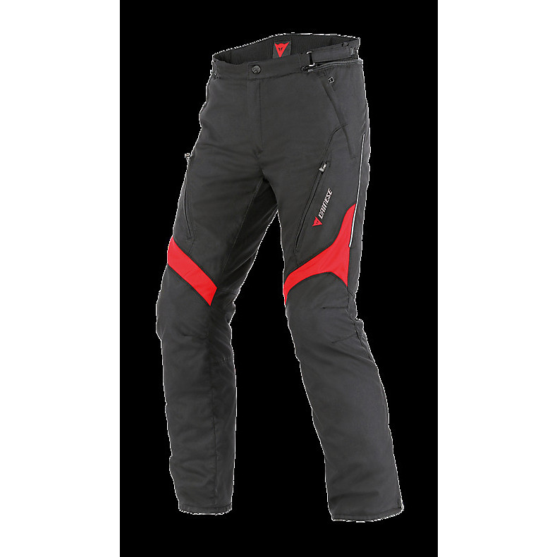 Pantalone Tempest D-dry nero-rosso Dainese