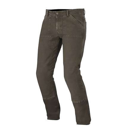 Pantalone Tom Canvas marrone Alpinestars