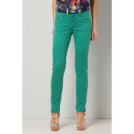pantalone tropical pop verde Gaudi