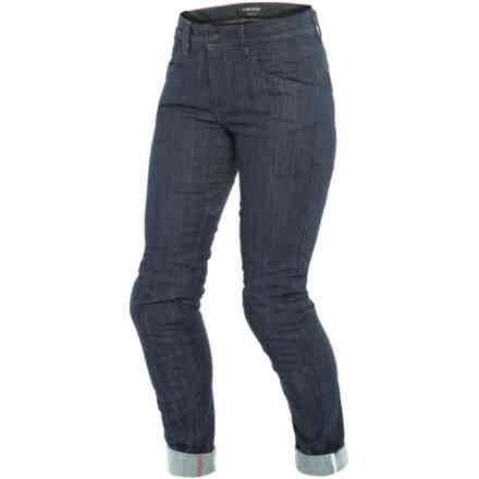 Pantaloni Alba Slim Lady dark denim Dainese