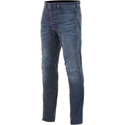 Pantaloni As-Dsl Shiro Riding Denim Rinse Plus Blu Alpinestars