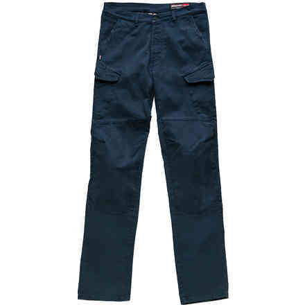 Pantaloni Cargo Canvas Strong Blu Blauer