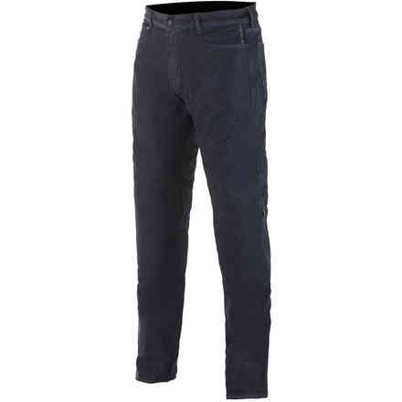 Pantaloni Copper Out V2 Riding Denim Rinse Plus Nero Alpinestars