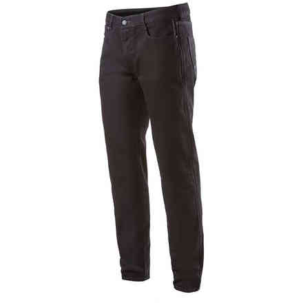 Pantaloni Copper V2 Plus Denim  Regular Fit Nero Alpinestars
