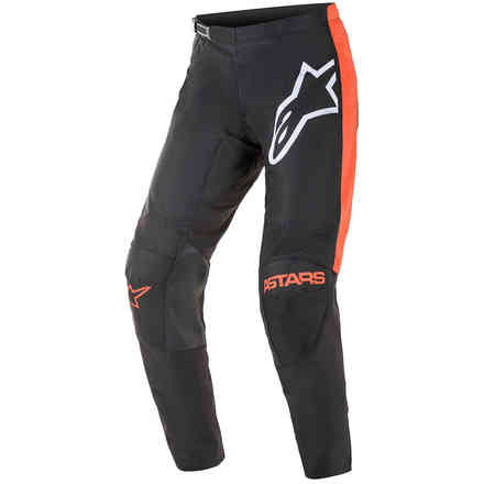 Pantaloni Cross Fluid Tripple Nero Arancione  Alpinestars