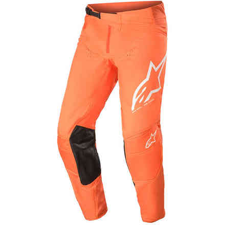 Pantaloni Cross Techstar Factory Arancione Bianco Alpinestars