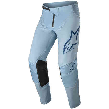 Pantaloni Cross Techstar Factory Blu Scuro Blu Chiaro Alpinestars