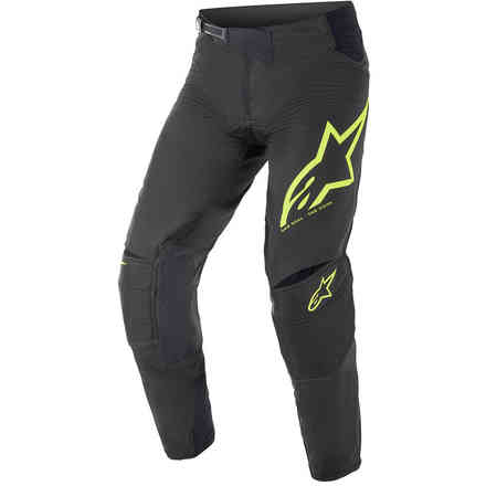 Pantaloni Cross Techstar Factory Nero Giallo Alpinestars