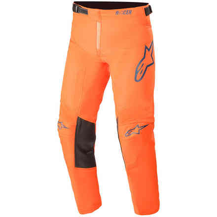 Pantaloni Cross Youth Racer Blaze Arancione Alpinestars